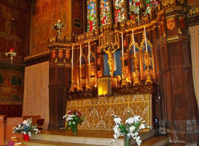 High altar, St. Patrick's, Hove