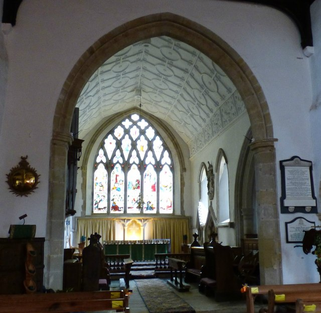 Interior of St. Margaret's, Buxted