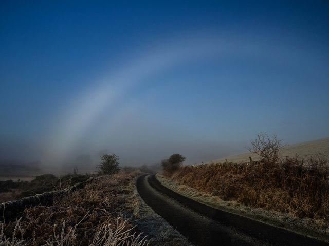 Fogbow near Drumbeg