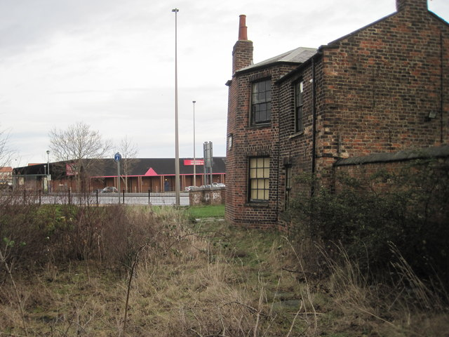 Stockton (S&DR) railway station (site), County Durham