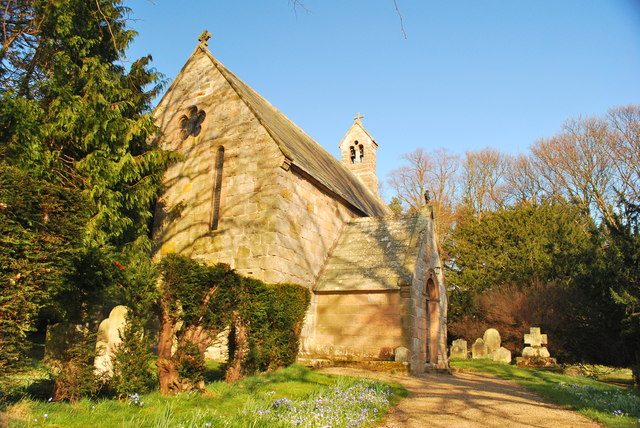 Old Bewick Church