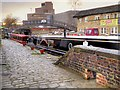 SE1516 : Huddersfield Broad Canal, Aspley Wharf by David Dixon