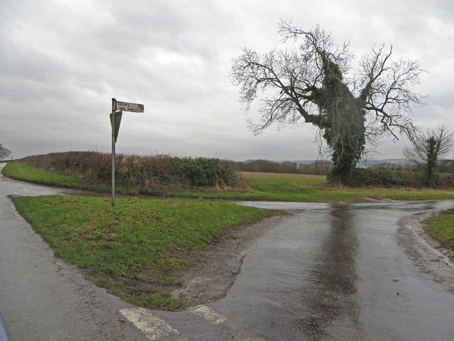 Junction of Middlegate and Saxby Hill