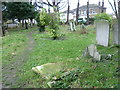 TQ3786 : In St Mary's Churchyard, Leyton by Marathon