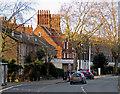 TM1545 : Winter sunlight, Norwich Road : Week 2