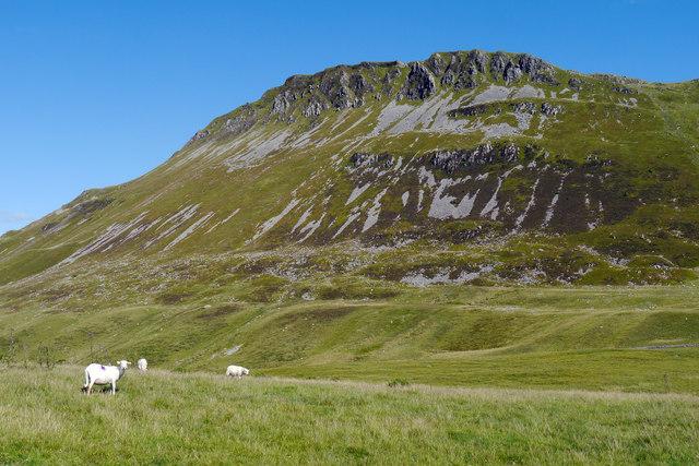 View towards Craig-las
