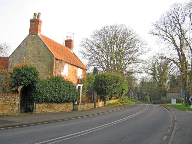 Cliff Road at Fulbeck