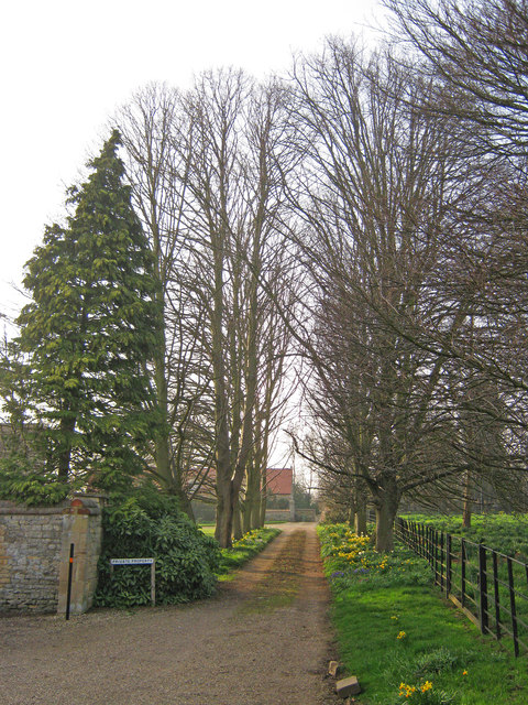 Entrance to Fulbeck Manor