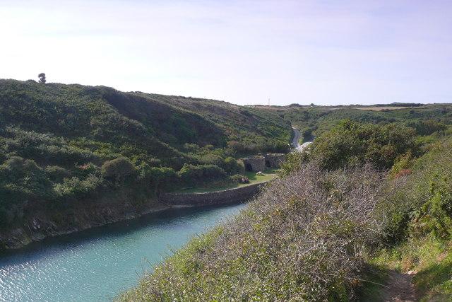 Odynnau Calch Porthclais / Lime Kilns Porthclais