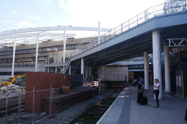 Platform 1, Manchester Victoria Station