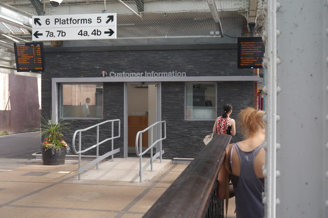 Customer Information at Shrewsbury station