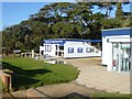 SZ4598 : Lepe, information centre by Mike Faherty