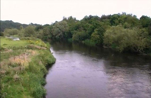 River Boyne from bridge at Newgrange