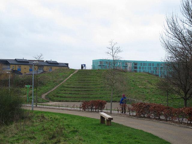 Artificial Hill Mile End Park Stephen Craven