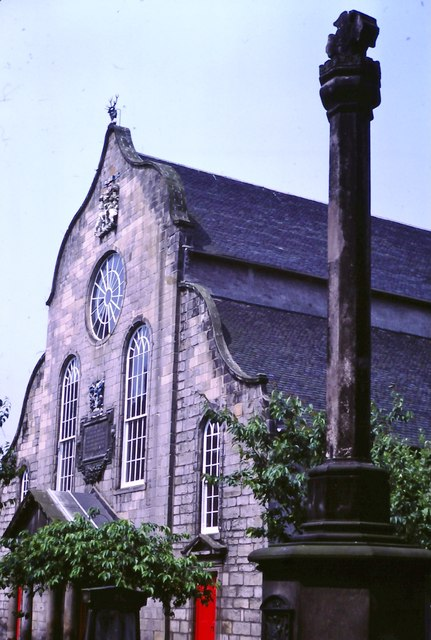 Canongate Burgh Cross and  Kirk (1982)