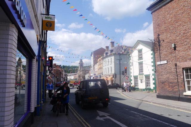Severn Street, Welshpool