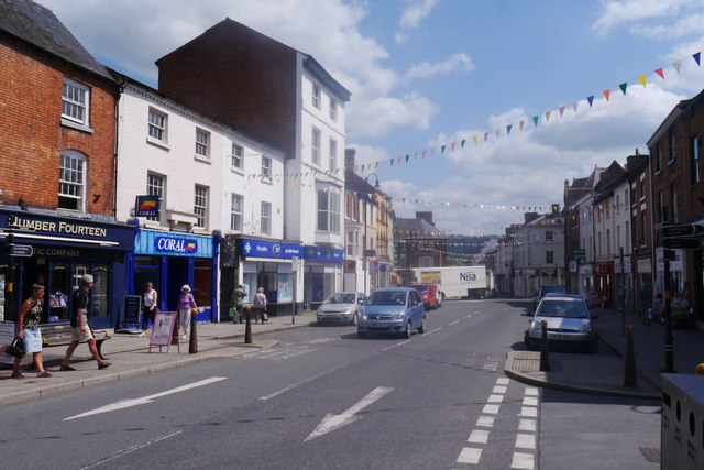 Broad Street, Welshpool