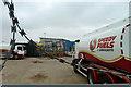 TQ0380 : Yard, Speedy Fuels & Lubricants by Robin Webster