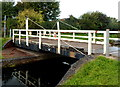 ST3035 : Crossways swing bridge, Bridgwater by Jaggery