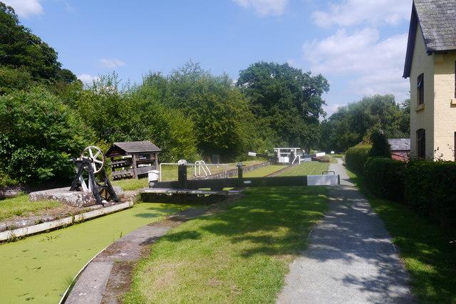 Belan Bottom Lock, Montgomery Canal