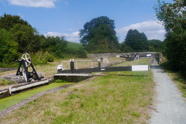 Belan Top Lock, Montgomery Canal