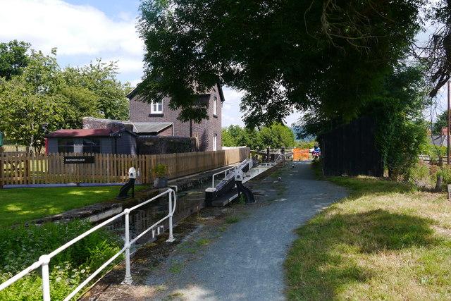 Brithdir Lock, Montgomery Canal