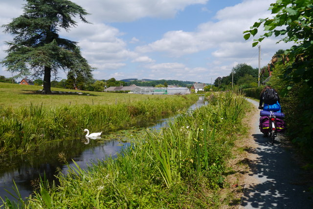 Montgomery Canal, south of Refail