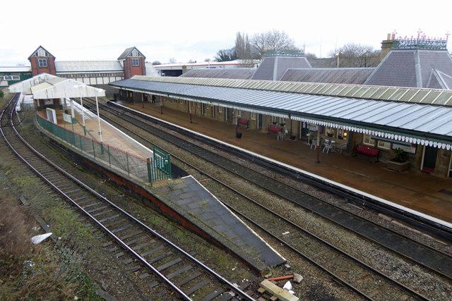 Wrexham General Railway Station
