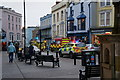 SN1300 : Emergency Services on St Julian's Street, Tenby by Ian S