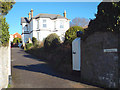 SX9473 : Entrance to Charterhouse, a villa on Second Drive, Teignmouth by Robin Stott