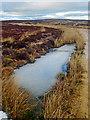 SE4896 : Frozen Pond, Miley Pike Hill by Scott Robinson