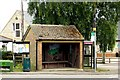 SP6626 : The bus shelter in Twyford by Steve Daniels