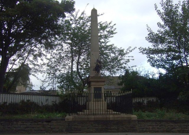 War Memorial on Doncaster Road