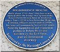 Photo of Blue plaque number 42495
