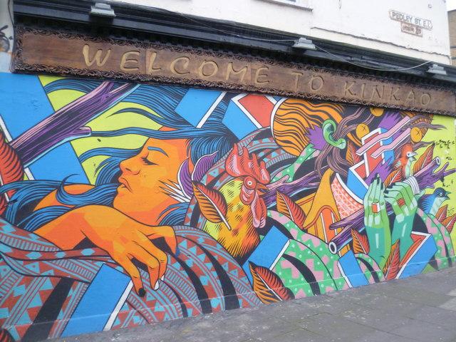 how to get graffiti off brick