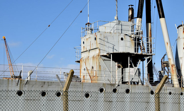 """HMS """"Caroline"""", Belfast - January 2015(2)"""