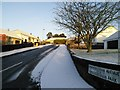 H4672 : Early morning winter sun, Omagh by Kenneth  Allen