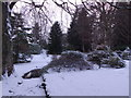 NJ6201 : A winter's day in a Torphins garden by Stanley Howe