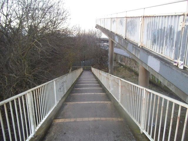 Footbridge over the M1, Colindale