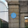 Photo of Ladysmith Barracks blue plaque