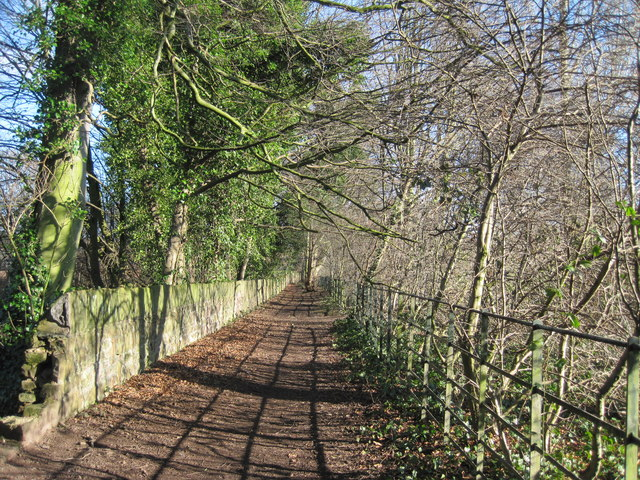 Footpath to Menlove Avenue