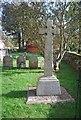 TG1007 : War memorial, Church of St Botolph by N Chadwick