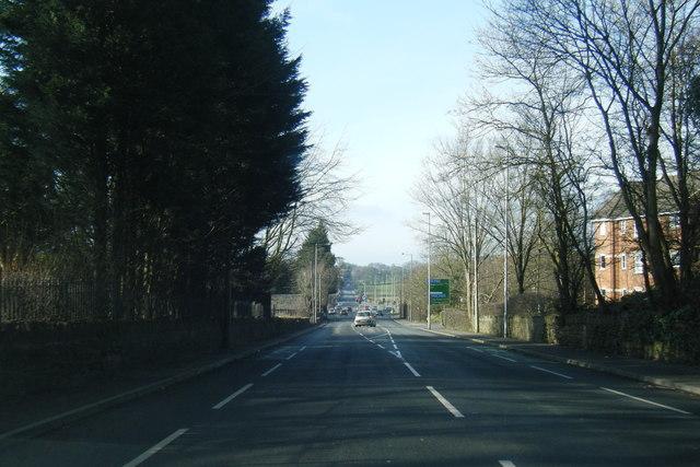 A677 road