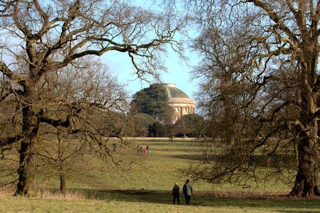 Ickworth House parkland and rotunda