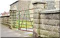 J4363 : Former railway gate, Ballygowan (February 2015) by Albert Bridge