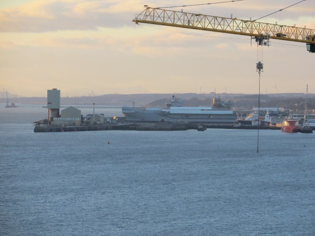 Carrier New New Aircraft Carrier Rosyth