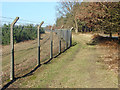 SU8763 : Barossa range fence line by Alan Hunt