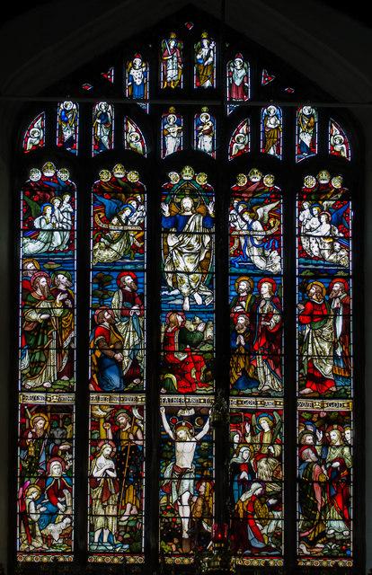 East Window All Saints Church 169 Julian P Guffogg