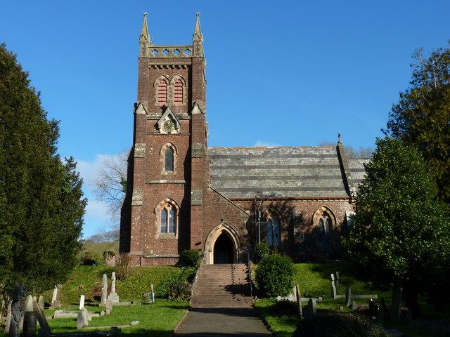 St Mary's church, Collaton St Mary