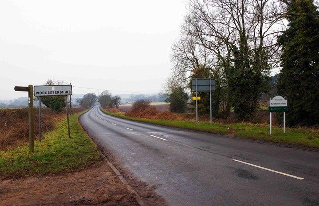 A451 road